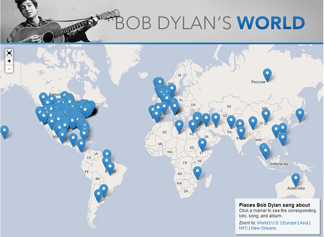 Bob Dylan's World