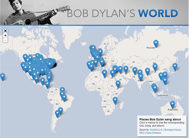 Bob Dylan's World